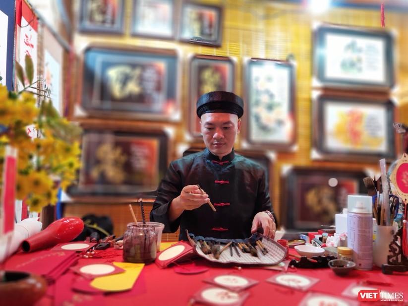Náo nhiệt phố ông đồ Tết Festival đón xuân Canh Tý 2020 ảnh 7