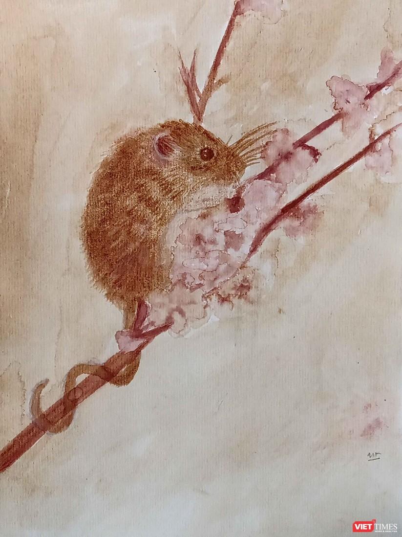 Những chú chuột đón Tết Canh Tý thật rực rỡ với màu thiên nhiên