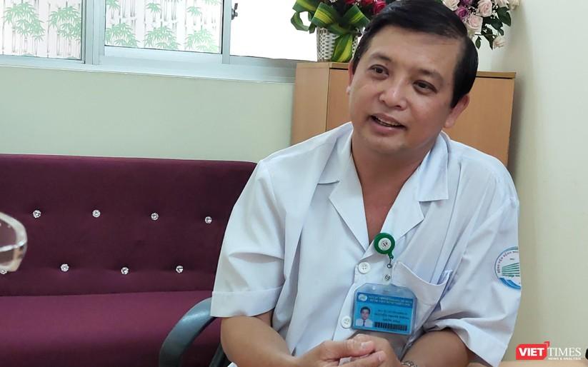 Bác sĩ Nguyễn Thanh Phong đồng ý với phụ huynh khi chưa thể yên tâm đưa trẻ đến trường