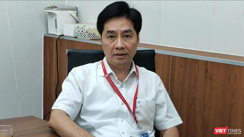 PGS.TS Trần Diệp Tuấn - Hiệu trưởng ĐH Y Dược TP.HCM (Ảnh: Hòa Bình)