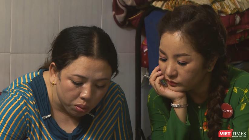 Thúy Nga bí mật dạy chị Hồng viết Con thương Mẹ
