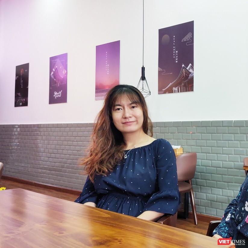 Hồng Thị Gấm, bà chủ Miss Korea trải lòng về công việc kinh doanh bị ảnh hưởng nặng nề bởi COVID-19 (Ảnh: Hòa Bình)
