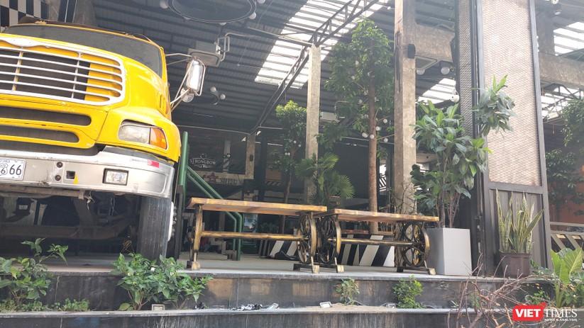 Nhà hàng bia trên phố Nguyễn Trãi quận 1 đang phải đóng cửa chưa thể mở lại