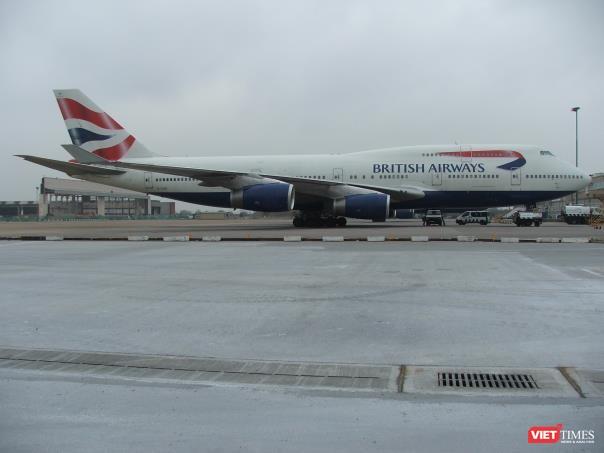Hệ cống kiểu thu nước Khe hẹp HAURATON đã thi công tại sân bay Heathrow, Anh
