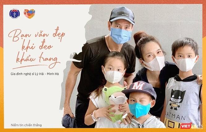 Gia đình nghệ sĩ Lý Hải - Minh Hà