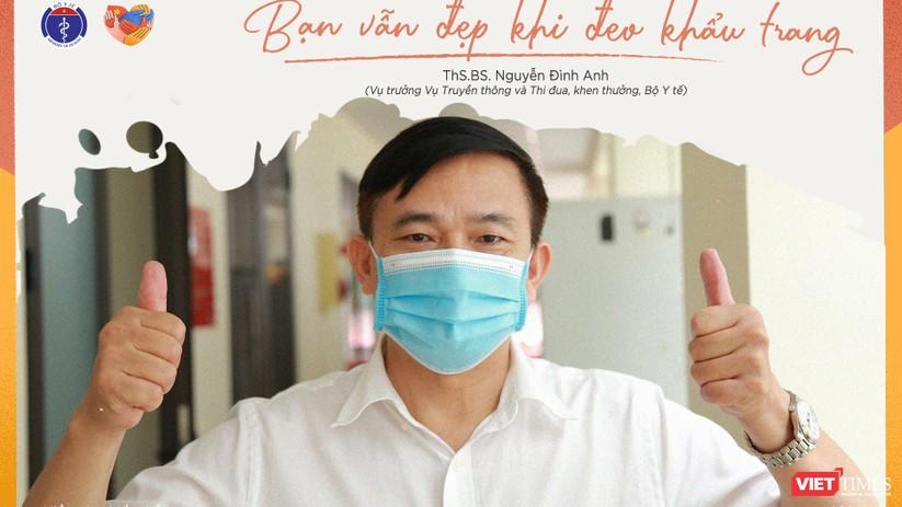 Ông Nguyễn Đình Anh, Vụ trưởng Vụ Truyền thông và Thi đua, khen thưởng - Bộ Y tế