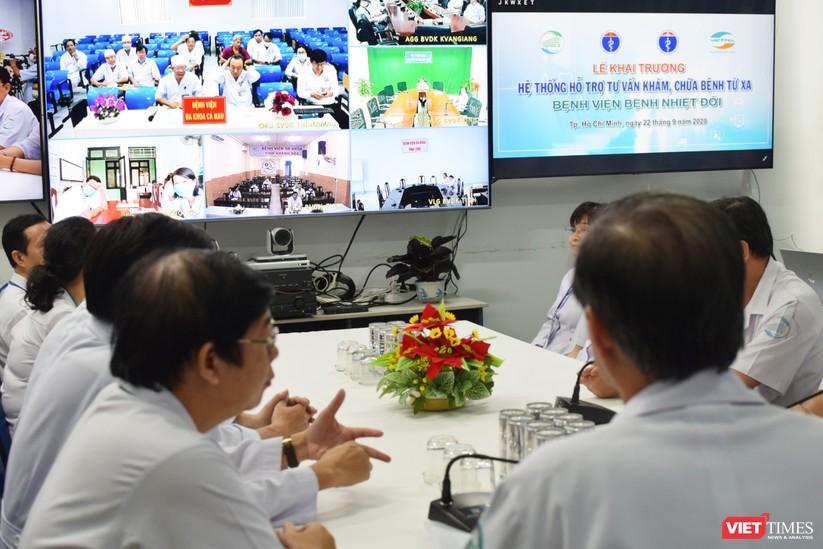 TP. HCM: BV Bệnh Nhiệt đới khai trương hệ thống telemedicine khám chữa bệnh từ xa ảnh 2