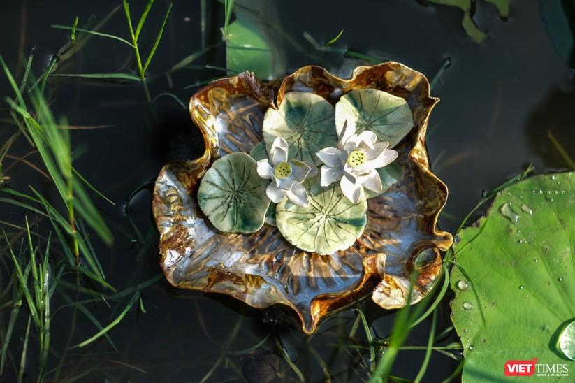 Ngắm bộ sưu tập Gốm Sen của Bùi Thanh Thuận