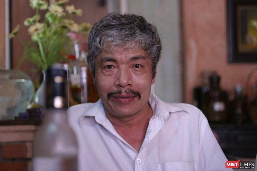 Nhà văn Bảo Ninh từ chối không sử dụng mạng xã hội (Ảnh: Nguyễn Đình Toán)