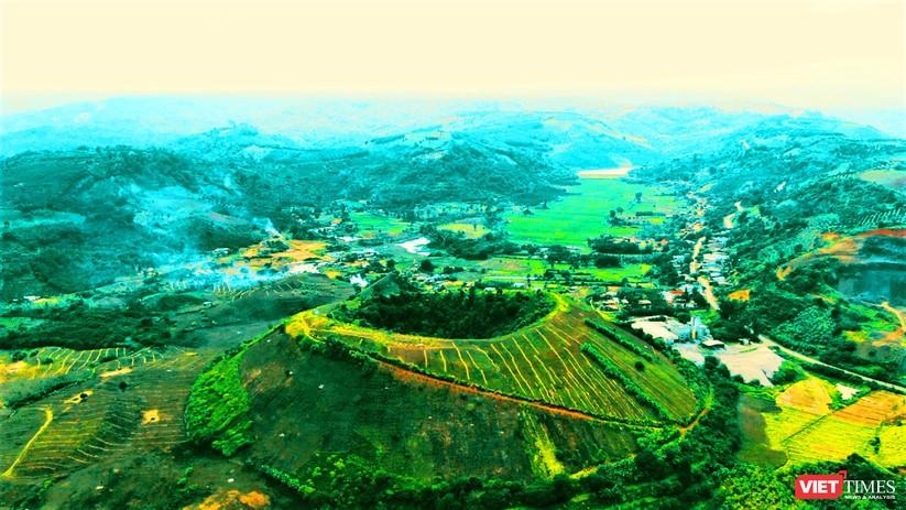 Trải nghiệm mùa vàng trên cánh đồng núi lửa Chư Bluk ảnh 14