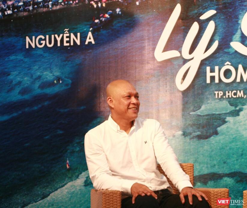 Nghệ sĩ nhiếp ảnh Nguyễn Á – người có tình yêu biển đảo mãnh liệt