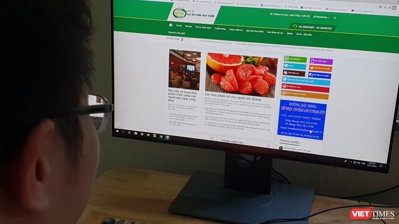 Chính phủ chỉ đạo xây dựng hệ thống thông tin an toàn thực phẩm