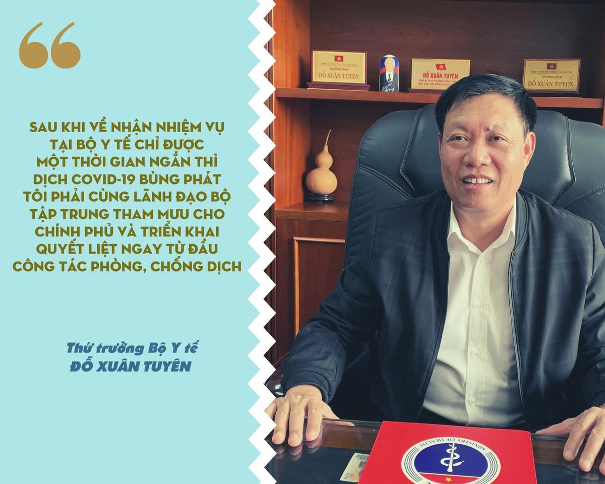 Thứ trưởng Đỗ Xuân Tuyên: Người đến từ vùng dịch không phải F1, F2 khuyến khích tự theo dõi sức khỏe ảnh 7