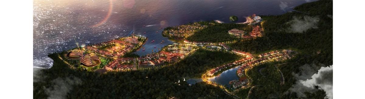 Hình ảnh phối cảnh dự án Vega City Vân Đồn của Tập đoàn KDI Holdings