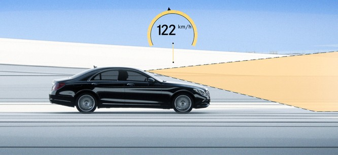 Mercedes Benz S-Class mới có tính năng Magic Body Control, loại bỏ cảm giác giằng xóc ảnh 2