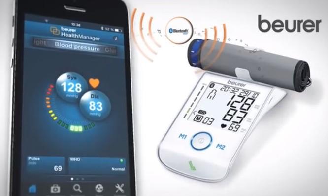 Máy đo huyết áp bắp tay công nghệ cao Beurer BM85 ảnh 2
