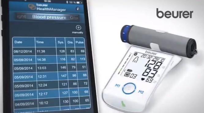 Máy đo huyết áp bắp tay công nghệ cao Beurer BM85 ảnh 3
