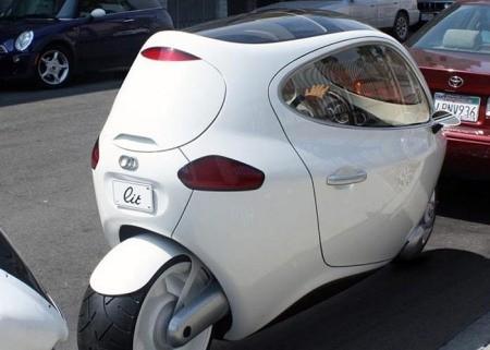 C-1, xe máy lai ôtô tự cân bằng của Lit Motors ảnh 5