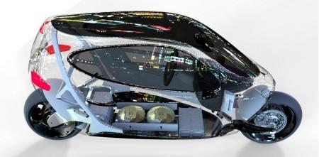 C-1, xe máy lai ôtô tự cân bằng của Lit Motors ảnh 2