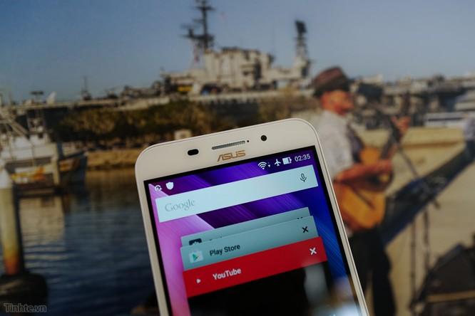 Trên tay Asus Zenfone Max: điện thoại kiêm pin di động giá 4.5 triệu đồng ảnh 2