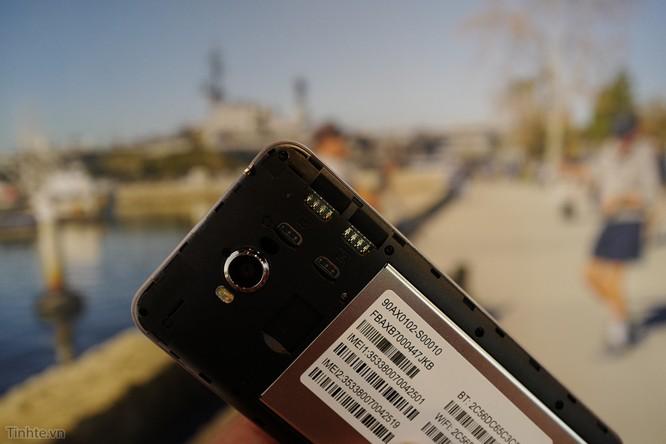 Trên tay Asus Zenfone Max: điện thoại kiêm pin di động giá 4.5 triệu đồng ảnh 12