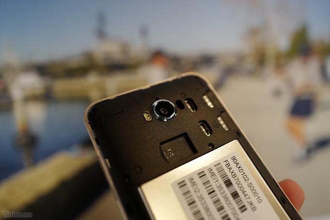 Trên tay Asus Zenfone Max: điện thoại kiêm pin di động giá 4.5 triệu đồng ảnh 13