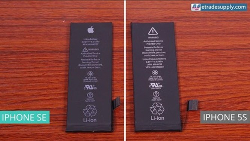 Dung lượng pin iPhone SE cao hơn iPhone 5S ảnh 1