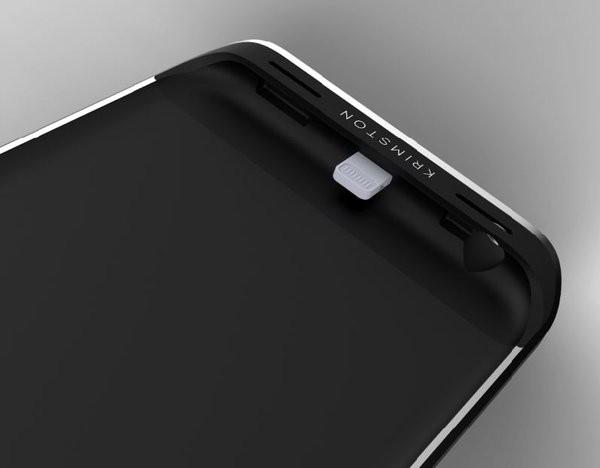 Krimston TWO - case tích hợp SIM phụ, có 3G, kiêm pin dự phòng dành cho iPhone ảnh 2