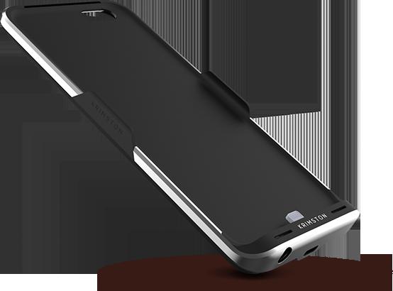 Krimston TWO - case tích hợp SIM phụ, có 3G, kiêm pin dự phòng dành cho iPhone ảnh 1