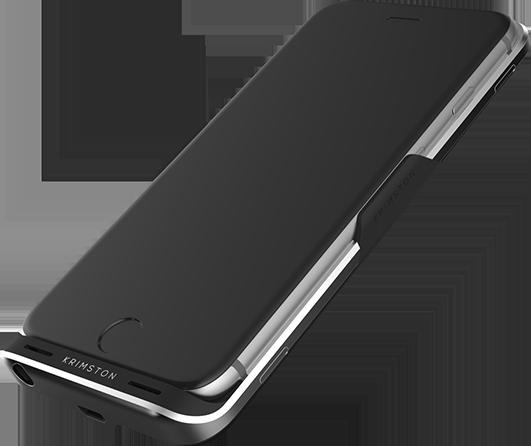 Krimston TWO - case tích hợp SIM phụ, có 3G, kiêm pin dự phòng dành cho iPhone ảnh 3