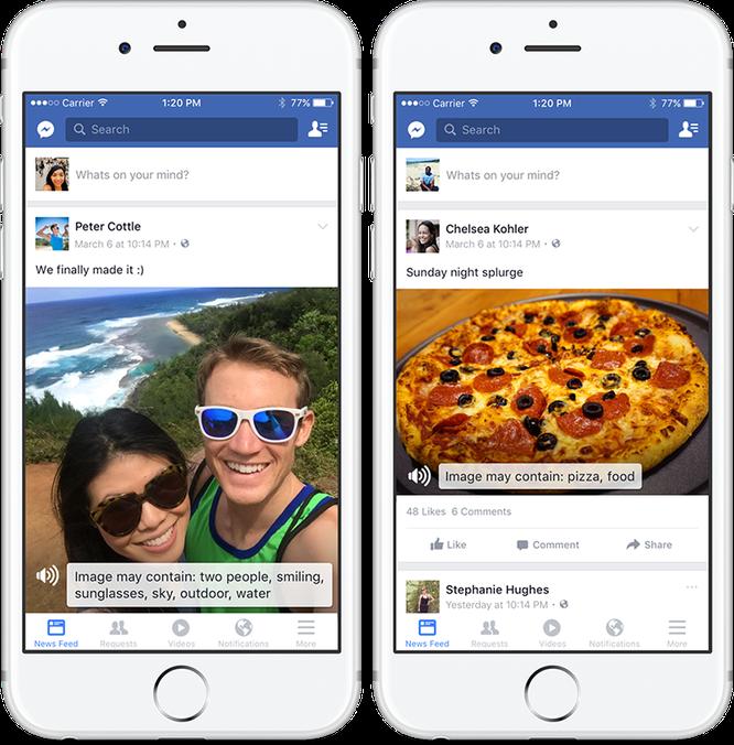 Facebook bắt đầu áp dụng tính năng mô tả hình ảnh cho người khiếm thị, đã có trên iOS ảnh 1