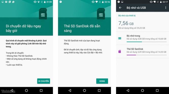 Dùng thẻ nhớ như là bộ nhớ trong trên Android 6.0: không như những gì bạn nghĩ ảnh 2