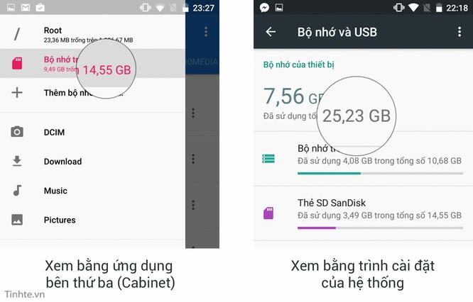 Dùng thẻ nhớ như là bộ nhớ trong trên Android 6.0: không như những gì bạn nghĩ ảnh 3