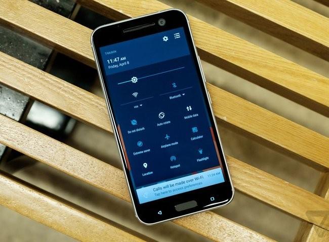 Trên tay chiếc HTC 10 thiết kế cực nam tính ảnh 11