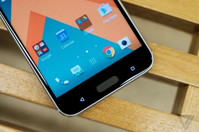 Trên tay chiếc HTC 10 thiết kế cực nam tính ảnh 14