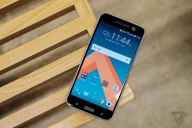 Trên tay chiếc HTC 10 thiết kế cực nam tính ảnh 2
