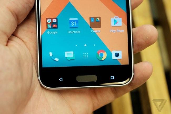 Trên tay chiếc HTC 10 thiết kế cực nam tính ảnh 10