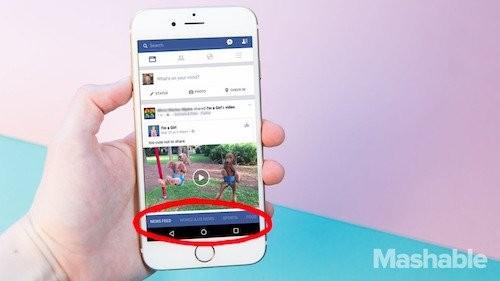 Facebook sắp thay đổi giao diện di động lớn nhất lịch sử ảnh 1