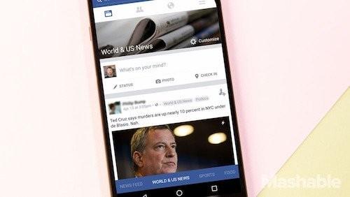 Facebook sắp thay đổi giao diện di động lớn nhất lịch sử ảnh 2