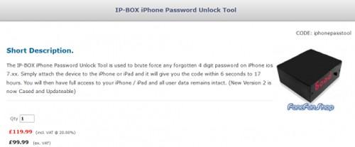 """Thiết bị """"phá khóa"""" iPhone trong 6 giây ảnh 1"""