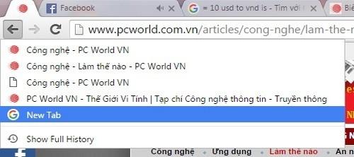 5 thủ thuật cho trình duyệt Google Chrome trên Windows ảnh 2
