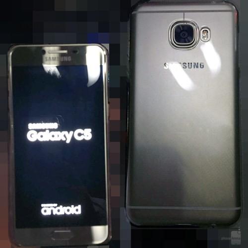 Ngắm điện thoại Galaxy C5 thiết kế giống HTC 10 ảnh 2