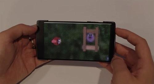 Ra mắt smartphone màn hình uốn dẻo, hiển thị 3D ảnh 4