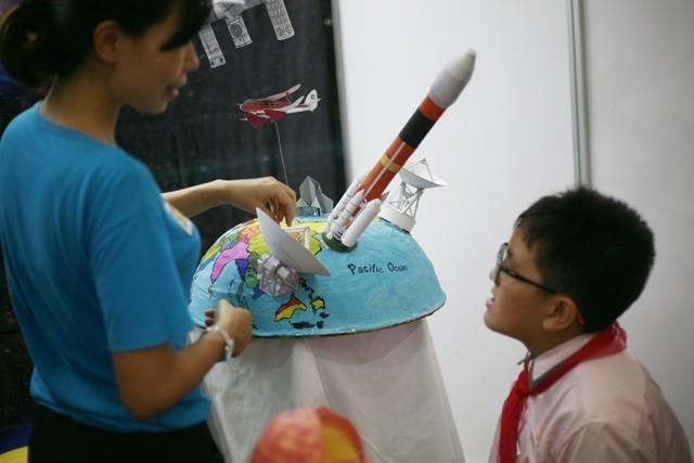Học sinh lớp 9 chế thiết bị bay không người lái ảnh 4