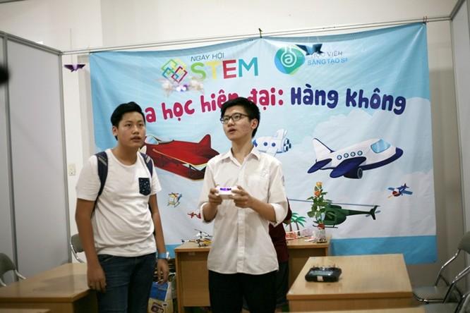 Học sinh lớp 9 chế thiết bị bay không người lái ảnh 11