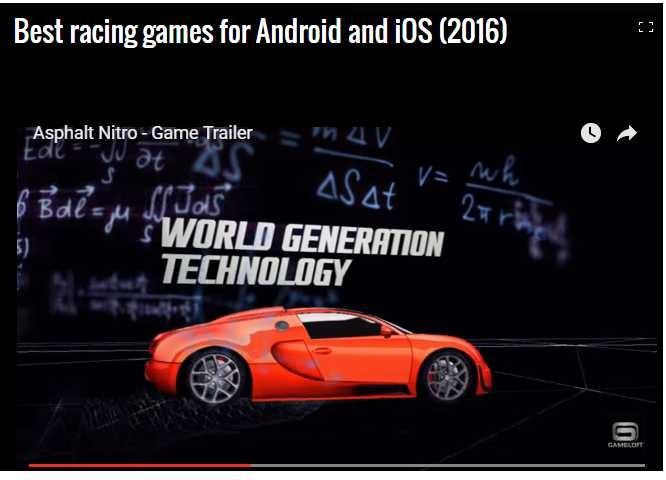 nhũng game dua xe hot nhát 2016 cho 'de' chay android và ios hinh anh 1