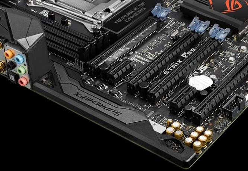 Asus ra mắt bo mạch chủ ROG Strix X99 Gaming ảnh 3