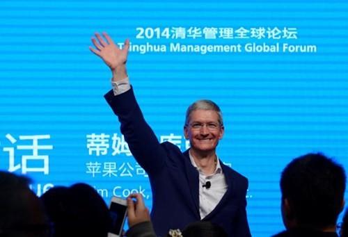 CEO Apple Tim Cook đến Trung Quốc ảnh 1