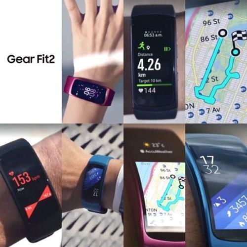 Vòng đeo tay thông minh Samsung Gear Fit 2 ảnh 1