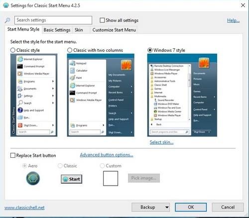 Đưa trình đơn Start của Windows 7 lên Windows 10 ảnh 1